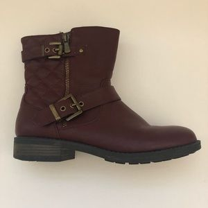 Buckle Ankle Boots (Nordstrom)